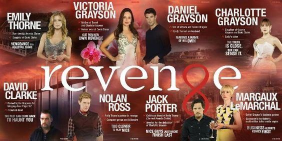Revenge - Season 4 - Cast Promotional Poster | Spoilers- revenge just gets better and better!