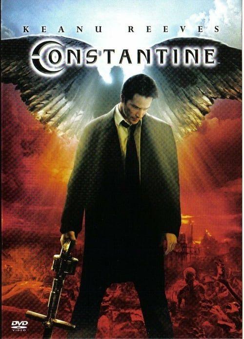Watch Constantine 2005 Full Movie Online Keanu Reeves Peliculas De Miedo Carteles De Peliculas