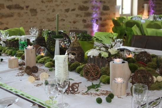 Thème nature pour décoration de mariage | Mariage nature | Pinterest