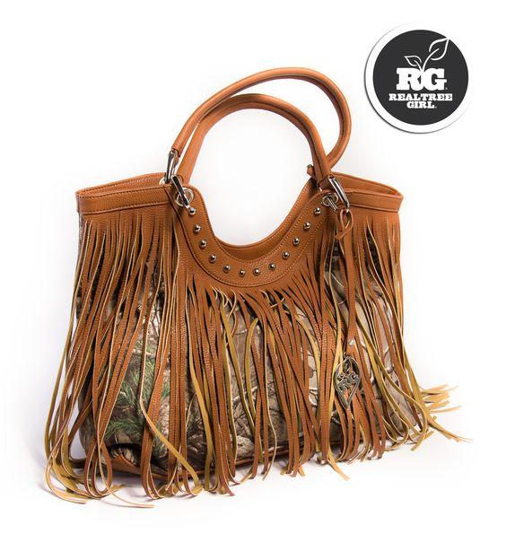 Realtree Girl Leather Handbag Spring 2015  #RealtreeGirl