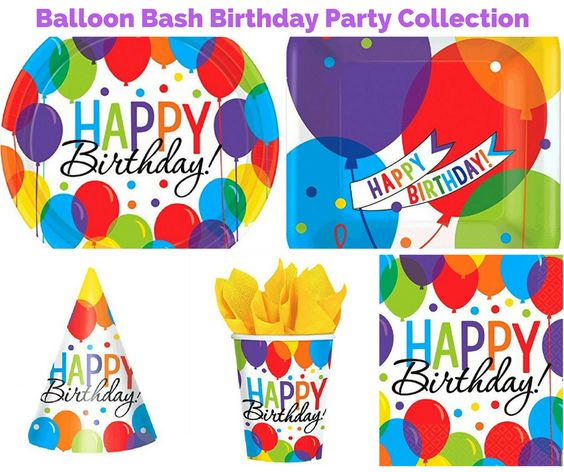 Balloon Bash Birthday Party