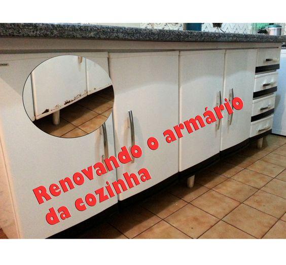 Renovando o Armário da Cozinha - Contact