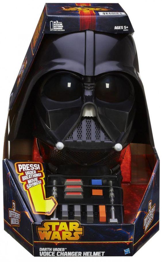 ToyzMag.com » Roleplay Star Wars : Darth Vader Voice Changer