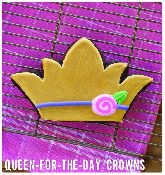 Mardi Gras Queen-for-a-Day Cookie Recipe « Lark Crafts Lark Crafts