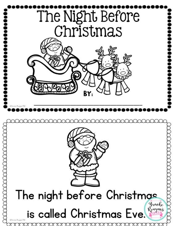 This reader is great to use with your students during the holiday season. Read with your students or allow them to read independently based on their level.