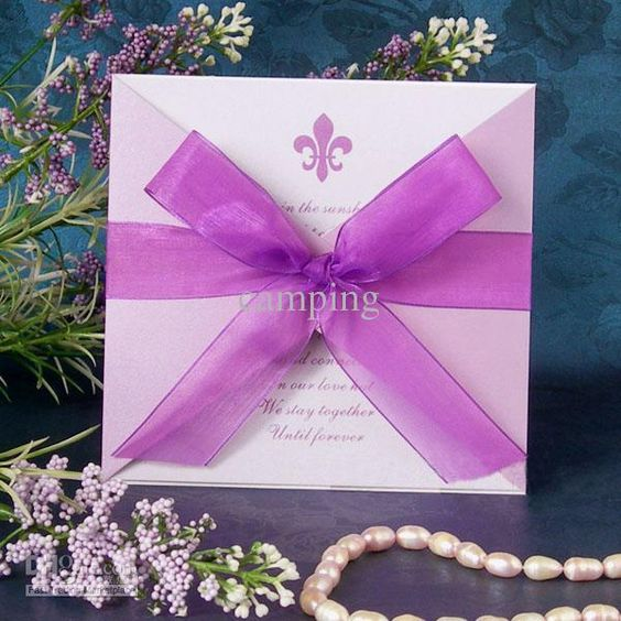 European High End Invitations Creative Wedding Invitations Personalized Wedding Invitations Purple Z07 Wedding Invitations Nz Wedding Invitations Toronto From Camping, $0.29| Dhgate.Com