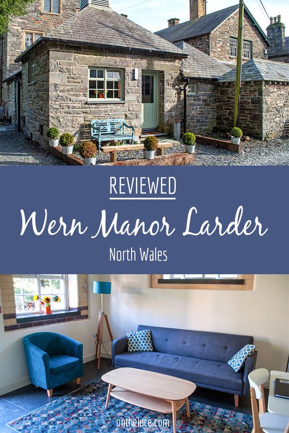 A cosy self-catering retreat for two in the North Wales countryside between Porthmadog and Criccieth, the Larder is part of the historic Wern Manor.