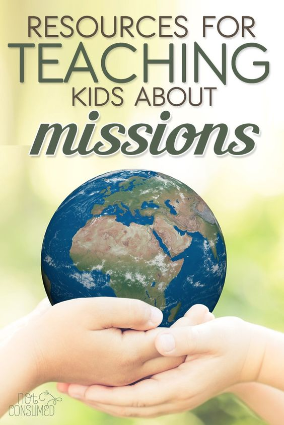 how to teach kids about missions