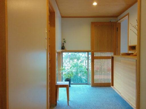 玄関を 内開き にした理由 旅館みたいな平屋暮らし 玄関 旅館