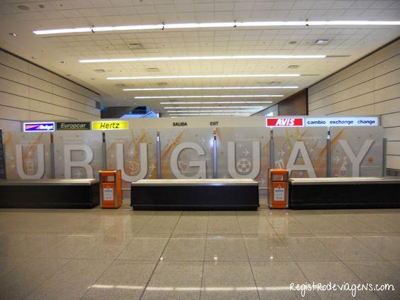 Registro de Viagens: Chegando em Montevidéu!