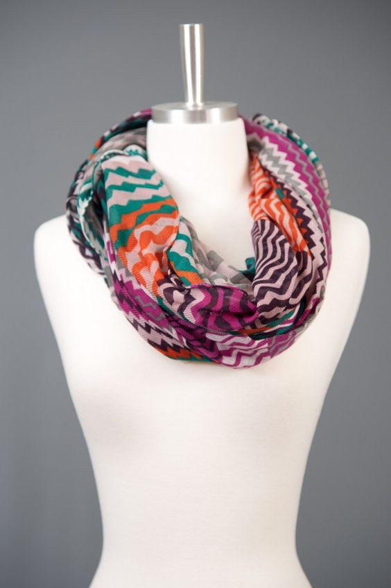 Crooked Mile Chevron Scarf