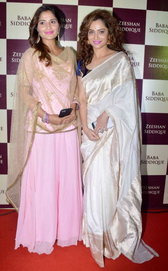 Love ankita lokhande's saree and the blouse too