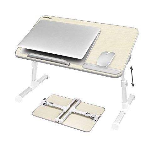 Balcony Bed Garden Adjustable Laptop Stand Laptop Table with Desktop Tablet Stand Foldable,Notebook Stand Computer Desk Tray for Sofa Terrace