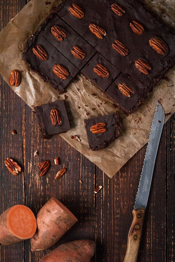 Süßkartoffel-Brownies