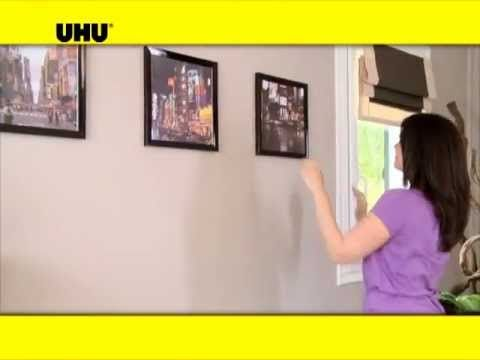 4 Cara Mudah Untuk Gantung Bingkai Gambar Tanpa Paku Dan Tebuk Lubang Impiana Home Decor Youtube Frame