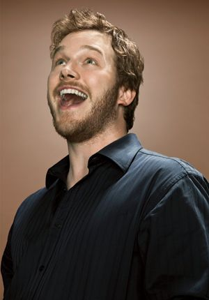 Love his character Andy on Parks & Rec along his wife, April! Chris Pratt was also hilarious in Five Year Engagement.