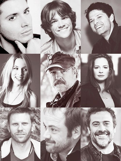 Some of the amazing and talented Supernatural cast! ♥