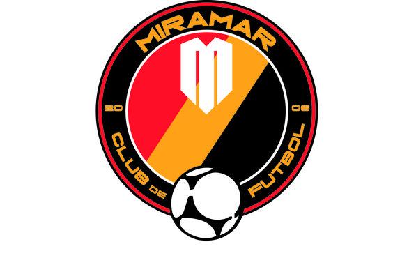 Escudo ganador del concurso del Miramar CF