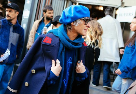 Ana Gimeno Brugada. Paris Fall Winter Fashion Week, March 2016: