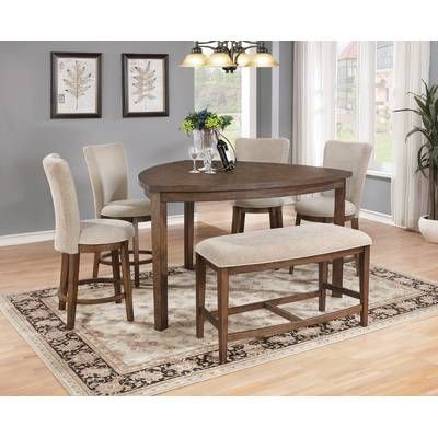 Counter Height Extendable Dining Table, Dining Room Sets With Expandable Table Dimensions