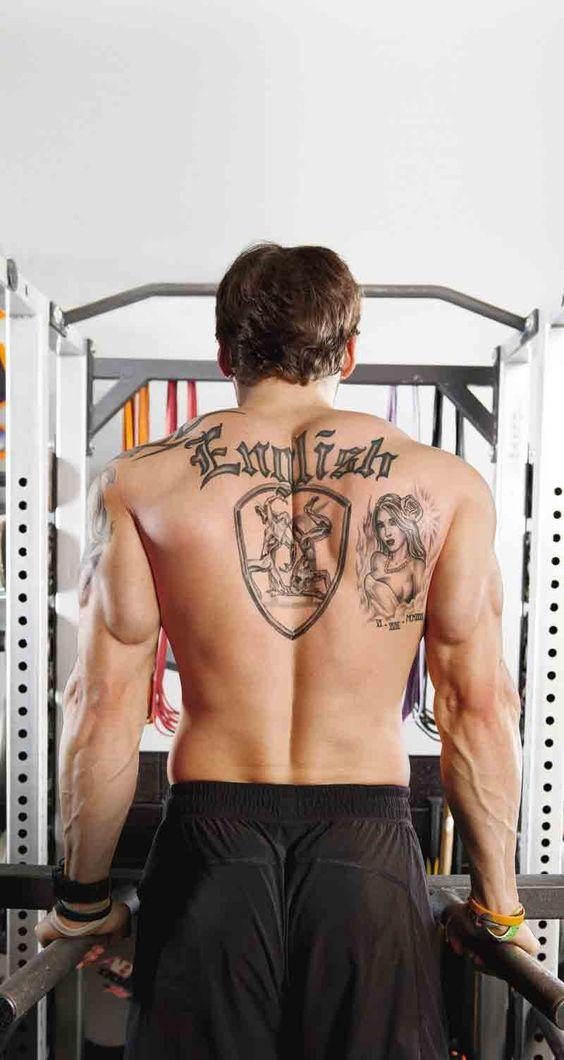 Tyler English's muscle methods