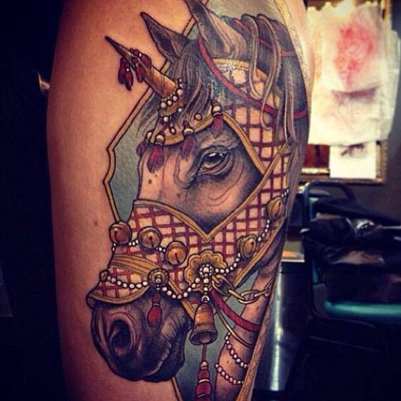 horse tattoo | Tumblr