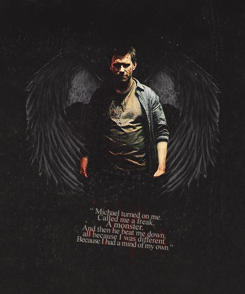 Lucifer - '' I was a son. A brother, like you, a younger brother, and I had an older brother who I loved. Idolized, in fact. And one day I went to him, and I begged him to stand with me. ''