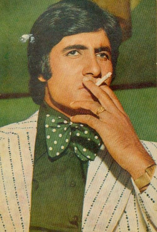 Image result for amitabh smoking young