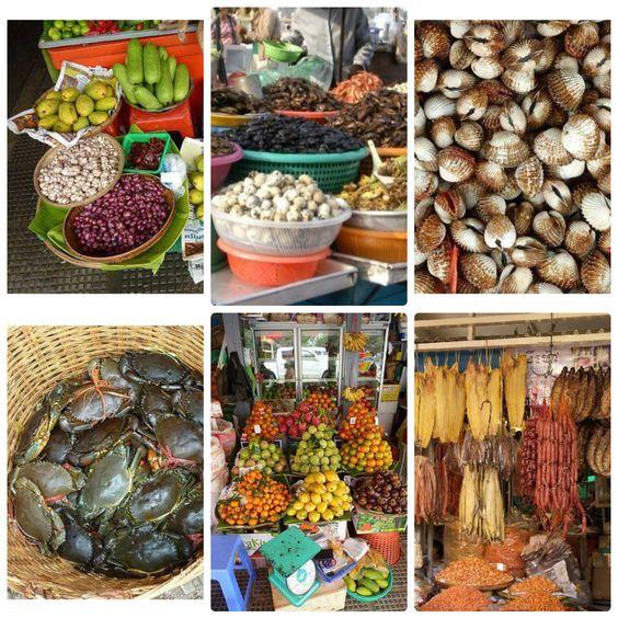Thực phẩm đa dạng và tươi ngon