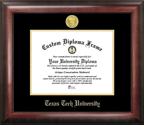Great For Campus Images Tx960ged Texas Tech University Embossed Diploma Frame 11 X 14 Gold Home Decor 155 Diploma Frame Campus Images Liberty University