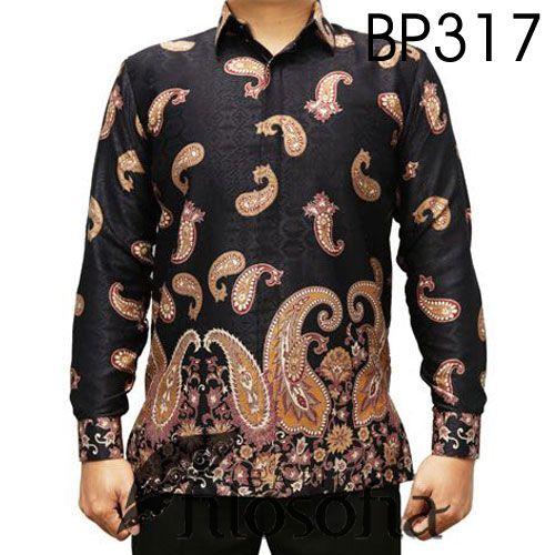 Pin Di Baju Batik Pria