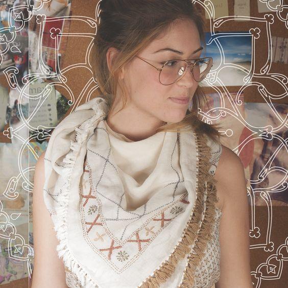 #boho #fashion #scarves