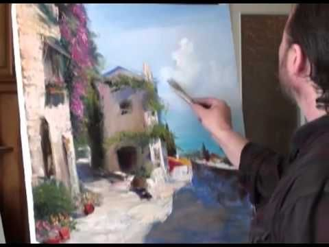 "FREE! Full video ""Italian Courtyard"" painter Igor Sakharov"