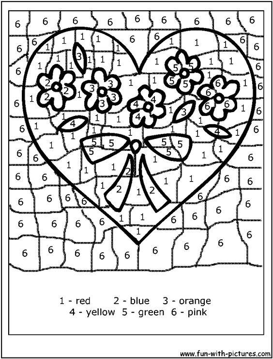 color by number | School color by number/letter | Pinterest ...