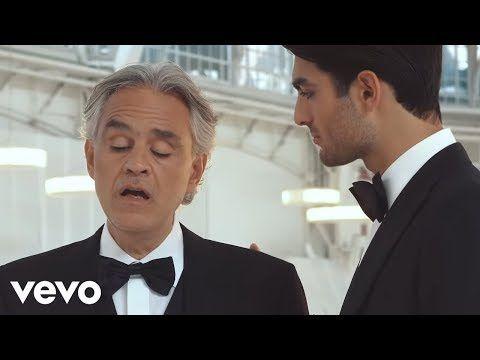 Andrea Bocelli Matteo Bocelli Ven A Mi Making Of Youtube