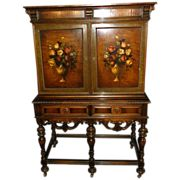Rockford Furniture Co Paint Decorated Secretary Desk Rockford Furniture Pinterest Paint