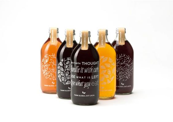 Think Global - Eat Local - Packaging Design by Katharina Kobsev