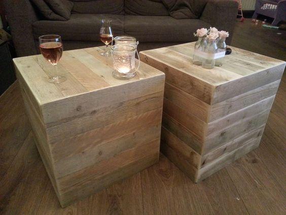 The o 39 jays drinks and patio on pinterest for Bijzettafel steigerhout