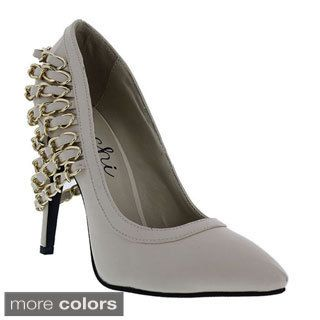 Machi Women's 'Finder-3' Chain Wrap Stiletto Pumps