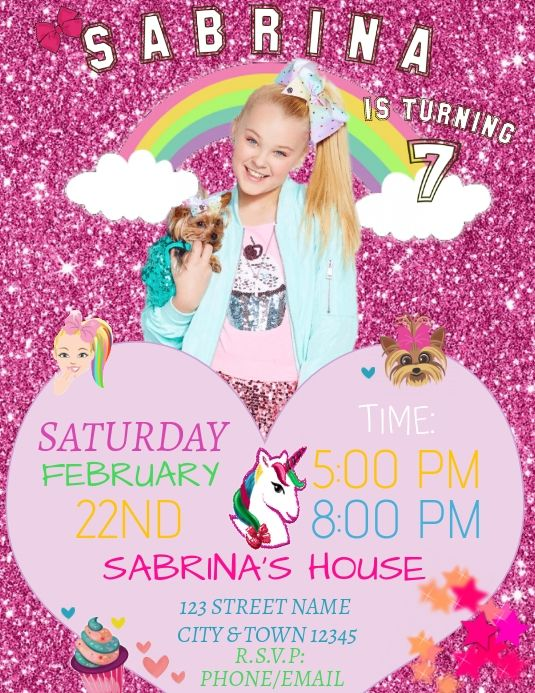 9a3c2bf8e8617fa445c0fb56f0310266 - How To Get Jojo Siwa To Come To Your House