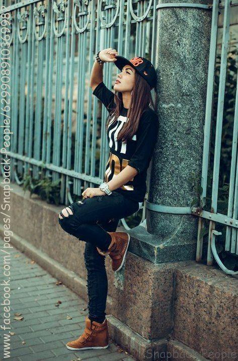cute snapbacks for girls | Fashion, Girl with Snapback