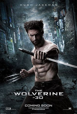 The official poster and trailer for 'The Wolverine' in 3D   Source: plus.google.com/+hughjackman/