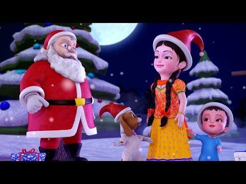 Jingle Bells Christmas Songs For Kids Hindi Rhymes For Children Infobells Youtube Christmas Songs For Kids Rhymes For Kids Christmas Cartoons
