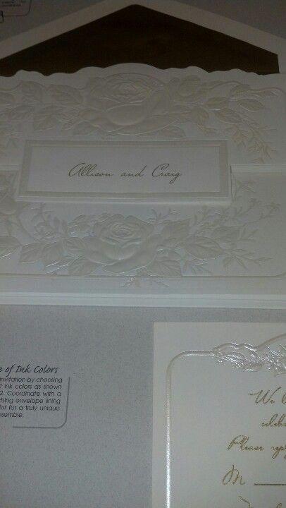 The wedding invitations I want