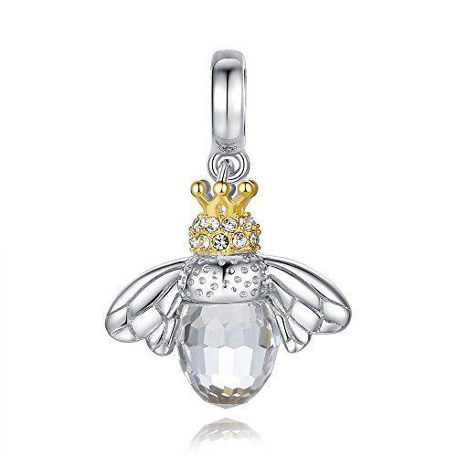 Glamulet 925 Sterling Silver Hardworking Bee Queen Swarovski Fits Pandora Chamilia Glamulet http://www.amazon.com/dp/B00T2TBCG6/ref=cm_sw_r_pi_dp_y.zSvb0D82FJ4