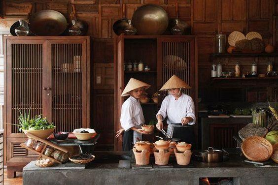 アジアン 食器棚例