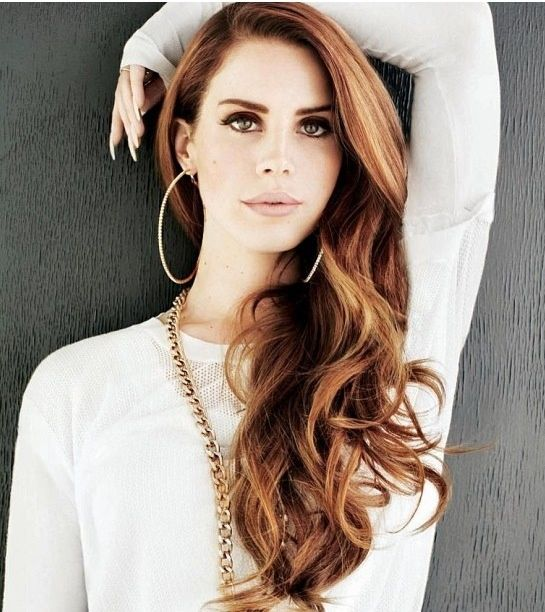 lana del rey hairstyle curls - photo #17