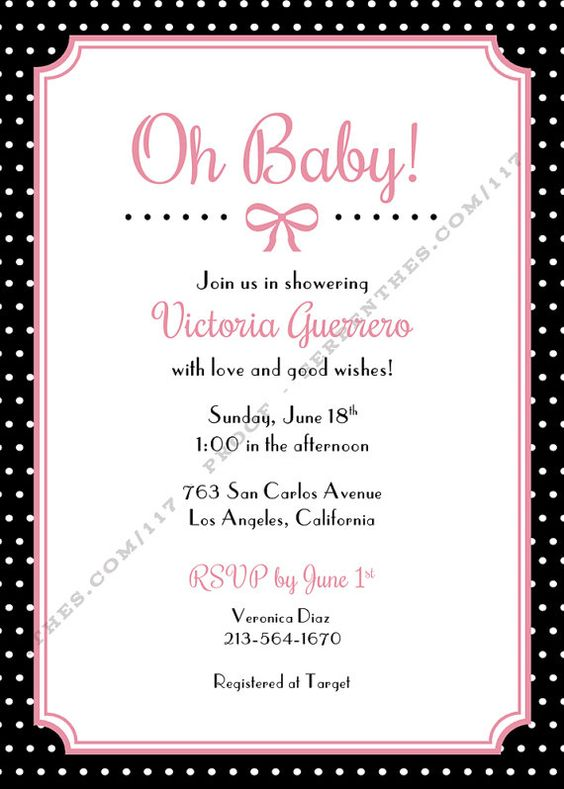 COCO Customized Printable Baby Shower Invitation by Line117, $17.00