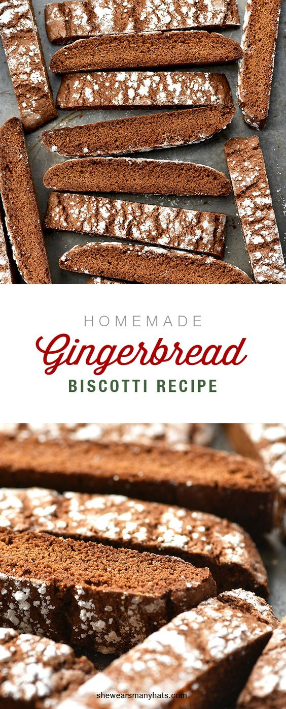 Delicious Homemade Ginger Biscotti Recipe is perfect for tea and coffee time.