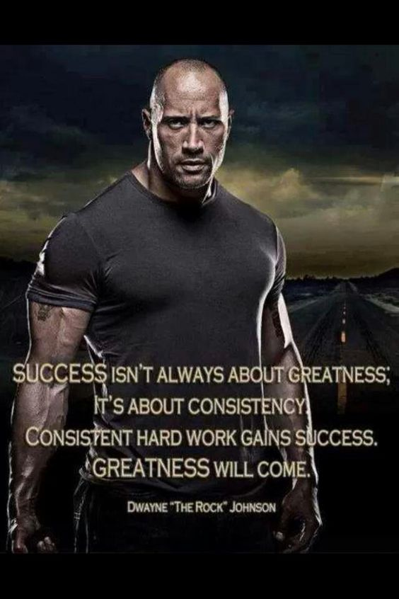 Hard work, The rock and So proud on Pinterest